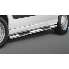 Boční rám s nášlapem z nerezové oceli Ø 60 mm pro Citroen Jumpy Fiat Scudo Peugeot Expert Tepee Toyota Proace Verso