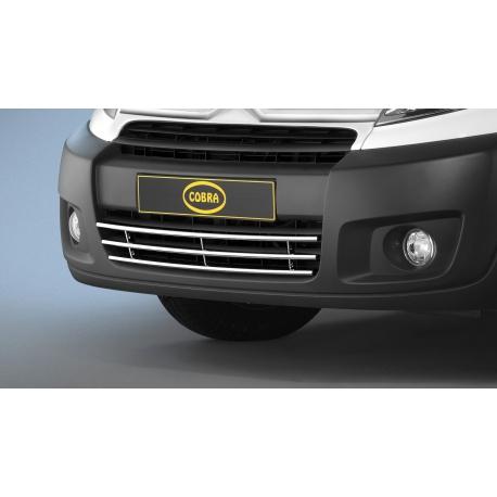 """Přední nárazník """"gril"""" z nerezové oceli Ø 15 mm pro Citroen Jumpy Fiat Scudo Peugeot Expert Tepee Toyota Proace Verso"""