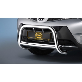 Přední rám z nerezové oceli chrom 60 mm pro Toyota Rav 4