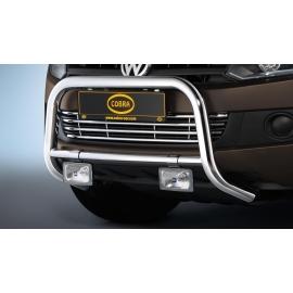 Přední rám z nerez oceli chrom Ø 60 mm pro VW Amarok - pouze u vozidel s ochranou proti podjetí