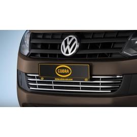 """Přední nárazník """"gril"""" z nerezové oceli Ø 15 mm (Trendline + Highline + Taruma) pro VW Amarok"""