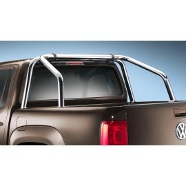 Rám korby z nerezové oceli Ø 60 mm, (dvojitá kabina) pro VW Amarok