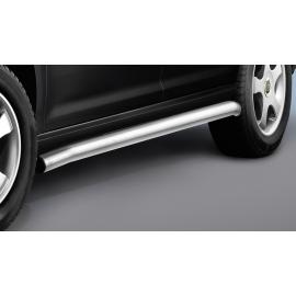 Boční rám z nerezové oceli (matný) Ø 60 mm, krátký rozvor pro VW Caddy