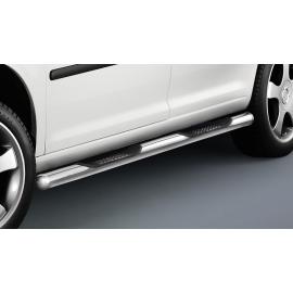 Boční rám s nášlapem, krátký rozvor, nerezová ocel Ø 60 mm pro VW Caddy
