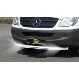 Cityguard-přední ochranný rám s LED denními světly Ø 60 mm pro Mercedes Sprinter Volkswagen Crafter