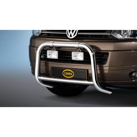 Přední rám z nerez oceli chrom Ø 60 mm pro VW T5