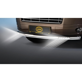 Cityguard-přední ochranný rám s LED denními světly Ø 60 mm pro VW T5