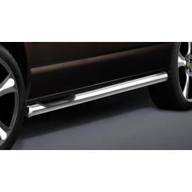 Boční rám se 3 stupni, krátký rozvor, 1 posuvné dveře, nerezová ocel Ø 60 mm pro VW T5 T6