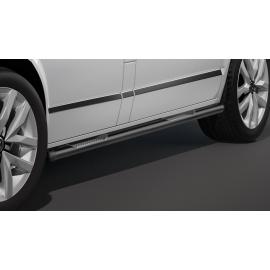 Boční rám s nášlapem, dlouhý rozvor, černý Ø 60 mm pro VW T5 a T6