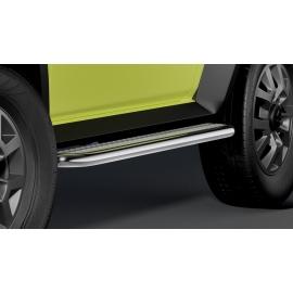 Schody z nerez oceli chromované / Alu pro Suzuki Jimny