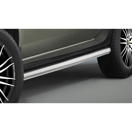 Boční rám z nerezové oceli Ø 60 mm pro Dacia Duster