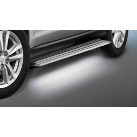Hliníkové schoddy s LED osvětlením pro Fiat Fullback a Mitsubishi L 200