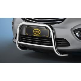 Přední rám z nerez oceli chrom 60 mm pro Fiat Talento a Nissan NV300 a Opel Vivaro a Renault Trafic