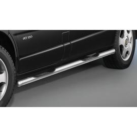 Boční rám s nášlapy, krátký rozvor, nerezová ocel Ø 60 mm pro Nissan Primastar a NV300,Opel Vivaro,Renault Trafic,Fiat Talento