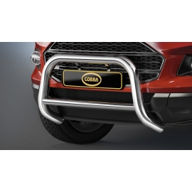 Přední rám z nerezové oceli chromu Ø 60 mm pro Ford Ecosport