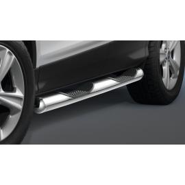 Boční lišty s nášlapy, nerezová ocel Ø 80 mm pro Ford Kuga