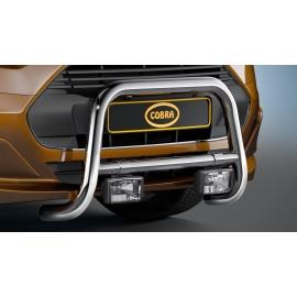 Přední rám z nerezové oceli chrom 60 mm Ford Transit Tourneo Connect