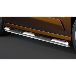 Boční rám s nášlapy, krátký rozvor, nerezová ocel Ø 60 mm pro Ford Transit Tourneo Connect