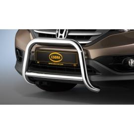 Přední rám z nerezové oceli chrom 60 mm pro Honda CR-V