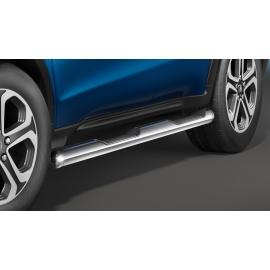 Boční rám s nášlapem, nerezová ocel Ø 60 mm pro Honda HR-V