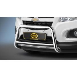 Přední rám z nerez oceli chrom Ø 60 mm pro Opel Mokka a Chevrolet Trax
