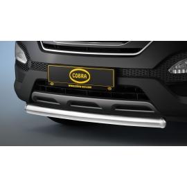 Přední ochranná trubka, nerezová ocel Ø 60 mm pro Hyundai Santa Fe