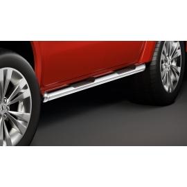 Boční rám s nášlapem, nerezová ocel Ø 80 mm pro Mercedes X-třídu