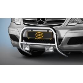 Přední rám z nerezové oceli chrom 60 mm pro Mercedes V-Class & Vito & Viano