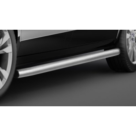 Boční ochranný rám z nerezové oceli (matná), krátký rozvor Ø 60 mm pro Mercedes V-třídu Vito Viano