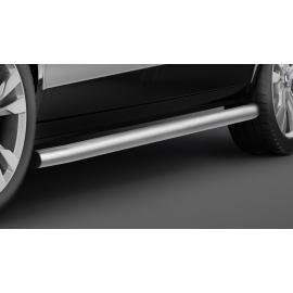 Boční ochranný rám z nerezové oceli kartáčovaná (matná), dlouhý rozvor Ø 60 mm pro Mercedes V-třídu Vito Viano