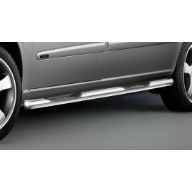 Boční rám se třemi stupni (2 vpravo, 1 vlevo), nerezová ocel Ø 60 mm, posuvné dveře jsou správné - u Mercedes V-Class Vito Viano
