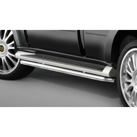 Schody z nerezové oceli, dlouhý rozvor pro Mitsubishi Pajero V80