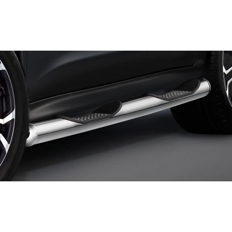 Boční rám s nášlapem, nerezová ocel Ø 80 mm pro Nissan Juke (ne pro pohon všech kol)