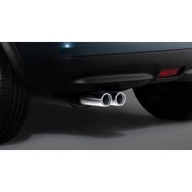 Dvojité sportovní koncovky výfuku nerez oceli o objemu 1,6 l benzín pro Nissan Juke
