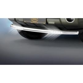 Cityguard-přední ochranný rám s LED denními světly Ø 60 mm pro Nissan Pathfinder Pick Up Navara D40