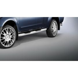 Boční rám s nášlapy, nerezová ocel Ø 80 mm pro Nissan Navara D40