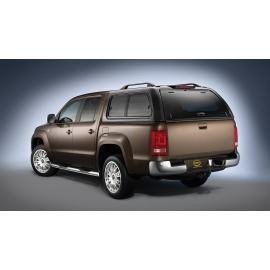 """Hardtop """"STYLISH"""", ABS, stříbrná pro Nissan Pick Up Navara D40"""