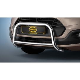 Přední rám z nerezové oceli chrom 60 mm pro Ford Tourneo Custom & Transit Custom