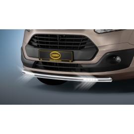 Cityguard-přední ochranný rám s LED osvětlením Ø 60 mm pro Ford Tourneo Custom & Transit Custom