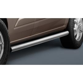 Boční rám z nerez oceli, kartáčovaný (matný), krátký rozvor Ø 60 mm pro Ford Transit Custom & Tourneo Custom