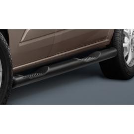 Boční rám s nášlapem, krátký rozvor, černá ocel Ø 80 mm pro Ford Transit Custom & Tourneo Custom