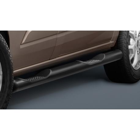 Boční rám s nášlapem, dlouhý rozvor, ocelová černá Ø 80 mm pro Ford Transit Custom & Tourneo Custom
