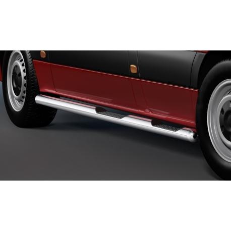 Boční rám s nášlapem, rozvor MR-L . Nerezová ocel Ø 80 mm pro Mercedes Sprinter