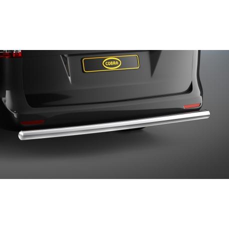 Zadní ochranný rám z nerezové oceli Ø 60 mm, chromovaná pro Mercedes V-Class & Vito & Viano