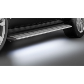 Hliníkové desky s LED osvětlením, posuvné dveře pouze vpravo - pouze krátký rozvor pro Mercedes V-Class & Vito & Viano