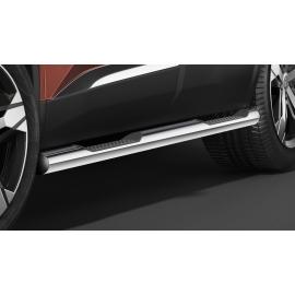 Boční rám s nášlapem, nerezová ocel Ø 60 mm pro Peugeot 3008, Opel Grandland X