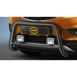 Přední rám z nerezové oceli černá Ø 60 mm pro model Opel Mokka X.