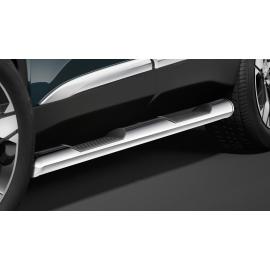 Boční rám s nášlapem, nerezová ocel Ø 60 mm pro Peugeot 5008
