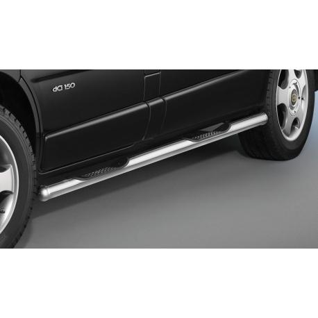Boční rám s nášlapy, dlouhý rozvor, nerezová ocel Ø 60 mm pro Nissan Primastar a NV300,Opel Vivaro,Renault Trafic,Fiat Talento