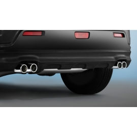 Dvojité sporovní koncovky výfuku z nerez oceli 1,6 l benzín pro Citroen C4 Aircross & Mitsubishi ASX